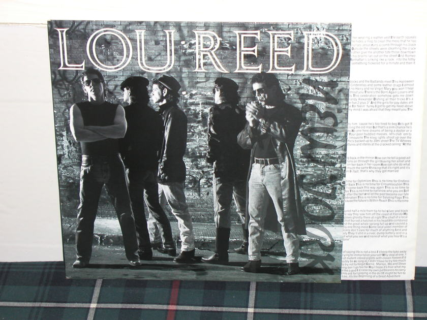 Lou Reed - New York On Sire from 1989