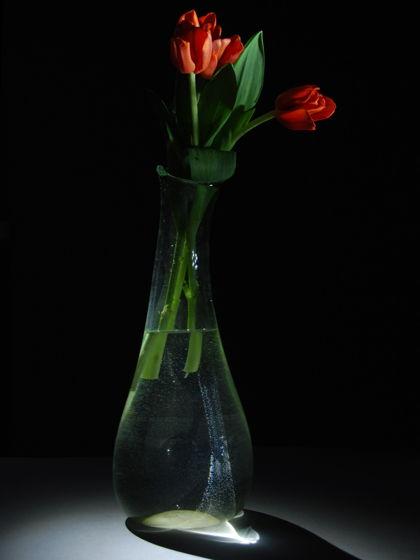 Высокая ваза для цветов