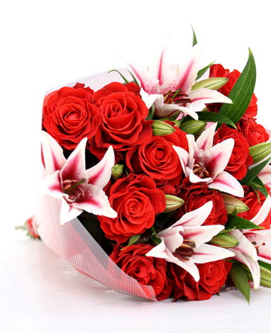 HF Loving Lilies & Roses Bouquet