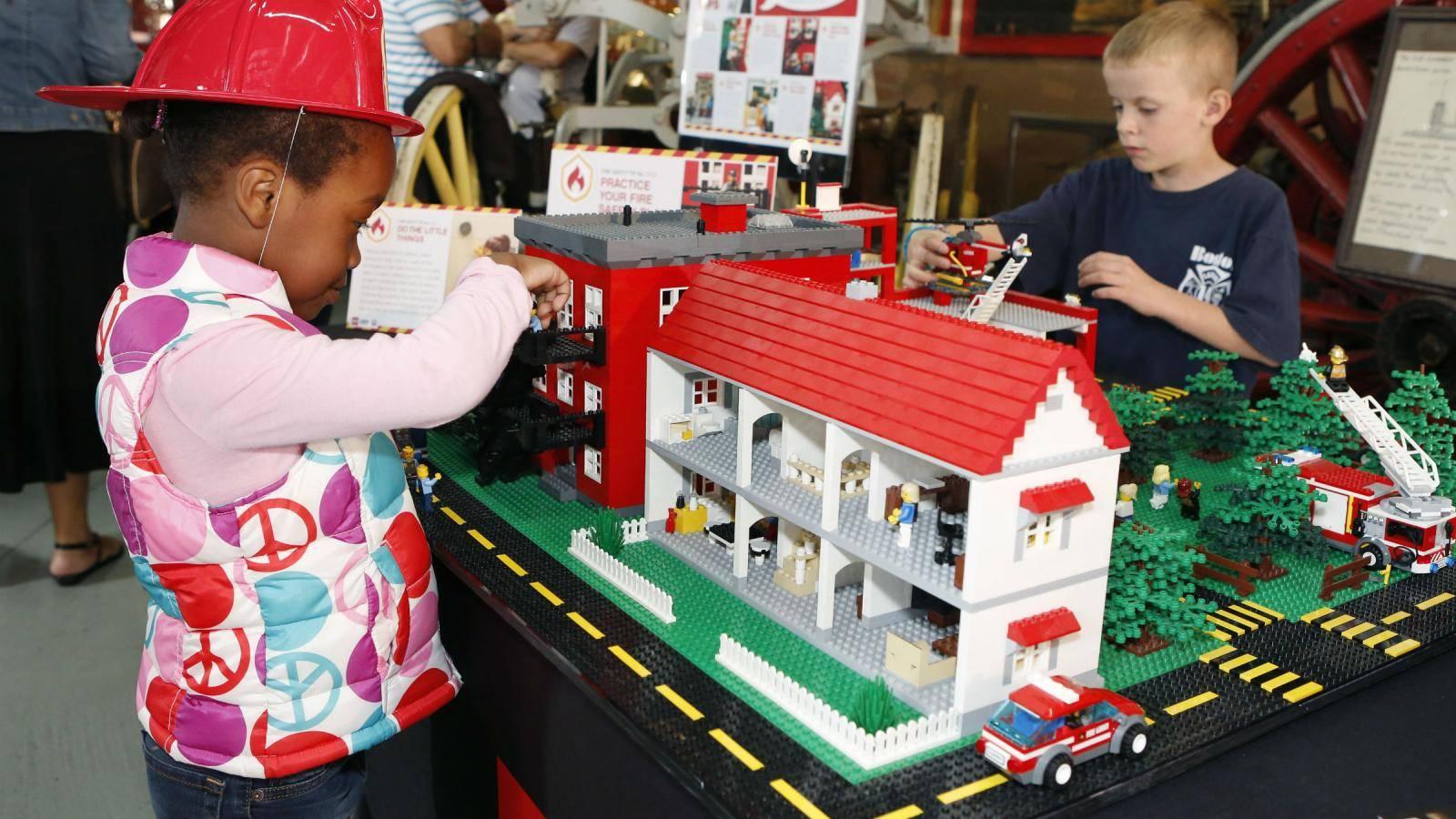 LEGO helps in socialization