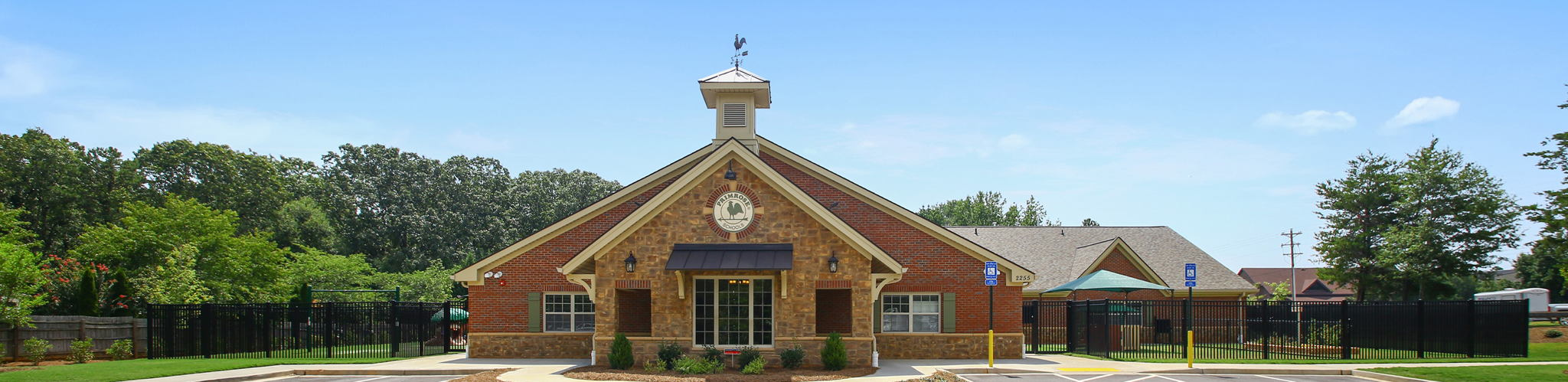 Exterior of a Primrose School of Simpsonville at Five Forks