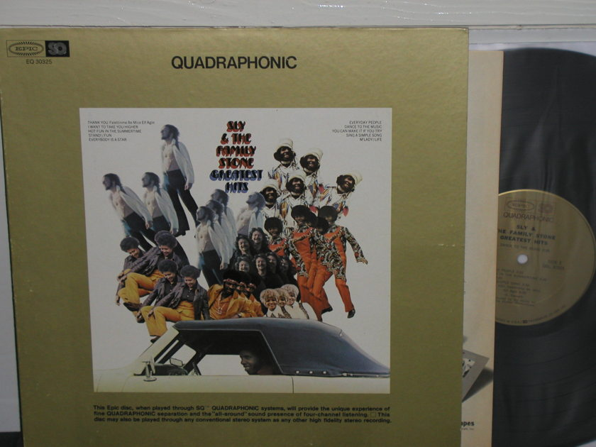 Sly & The Family Stone - Greatest Hits SQ Quad LP Epic Gold label Quad