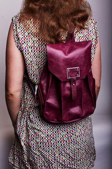 Женский городской рюкзак -SATELLITE- цвет Ploom
