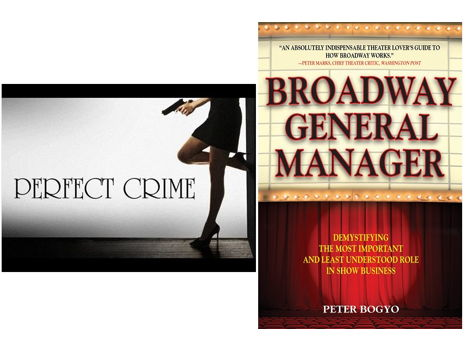Walk-On Role in Off-Broadway's The Perfect Crime, and a Theater Book