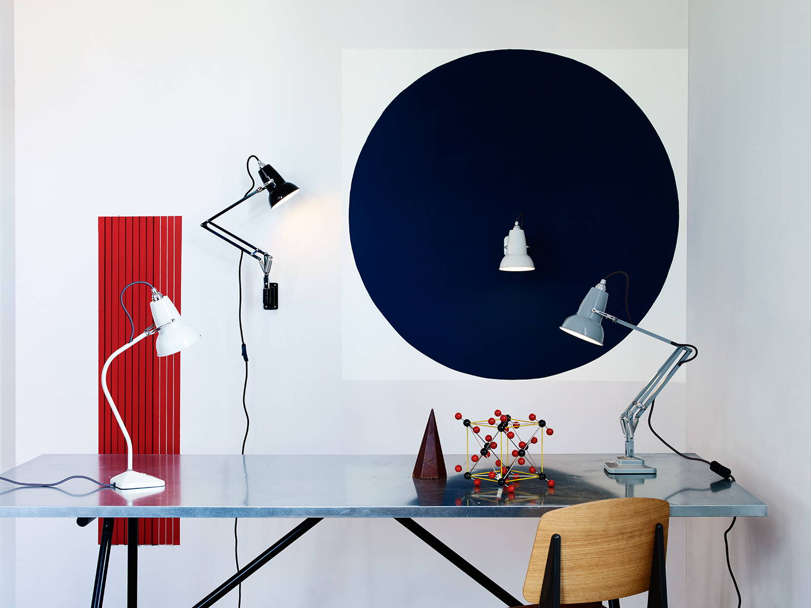 Anglepoise lamps available from Inspyer Lighting