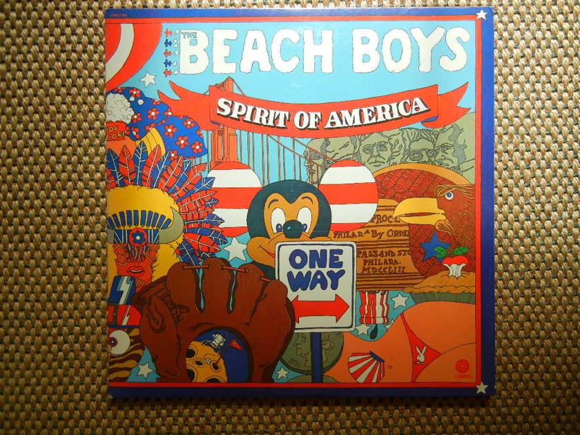 The Beach Boys Spirit Of America Capitol Records Vbb