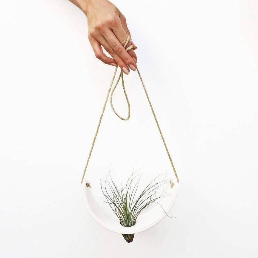 Hanging Ceramic Plant Holder