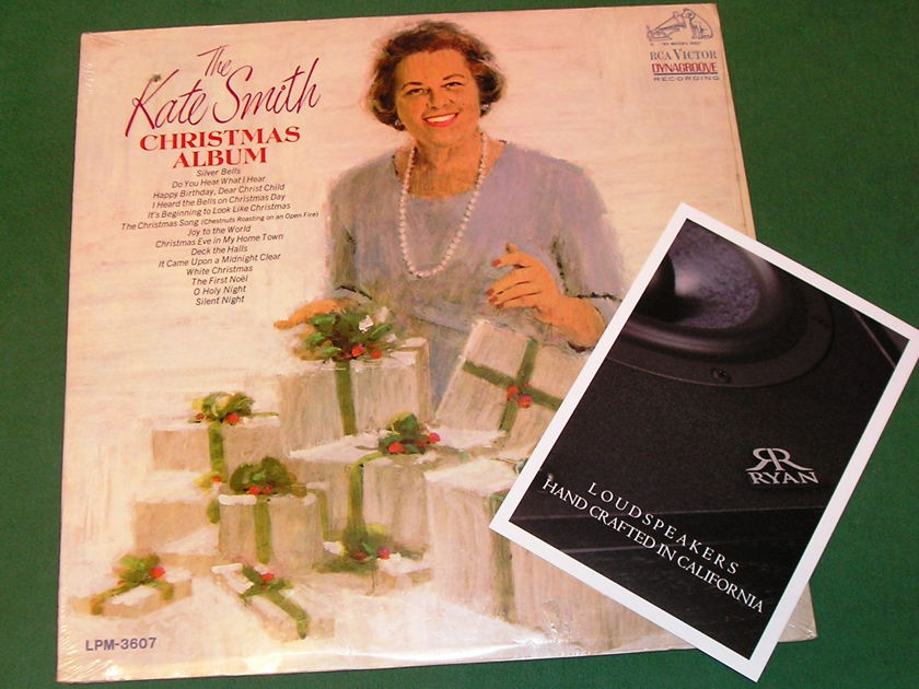 KATE SMITH - THE CHRISTMAS ALBUM - * 1966 MONO RCA VICTOR PRESS * NEW/SEALED (drill-out)