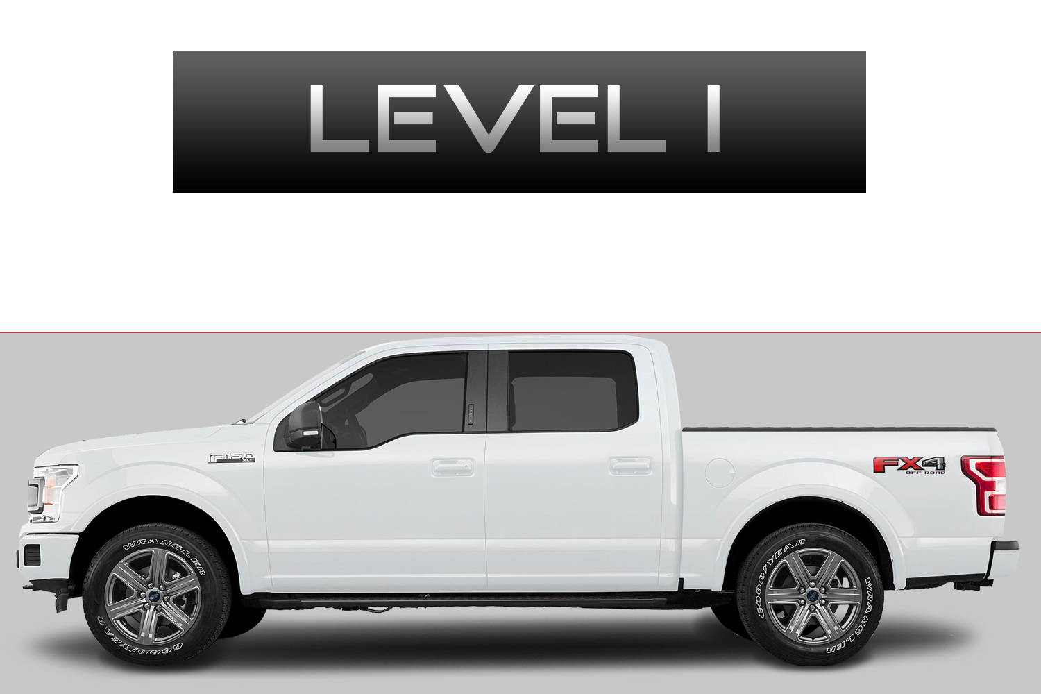 Ford F150 Off-Road Customizing Package Level 1 by 3C Trucks