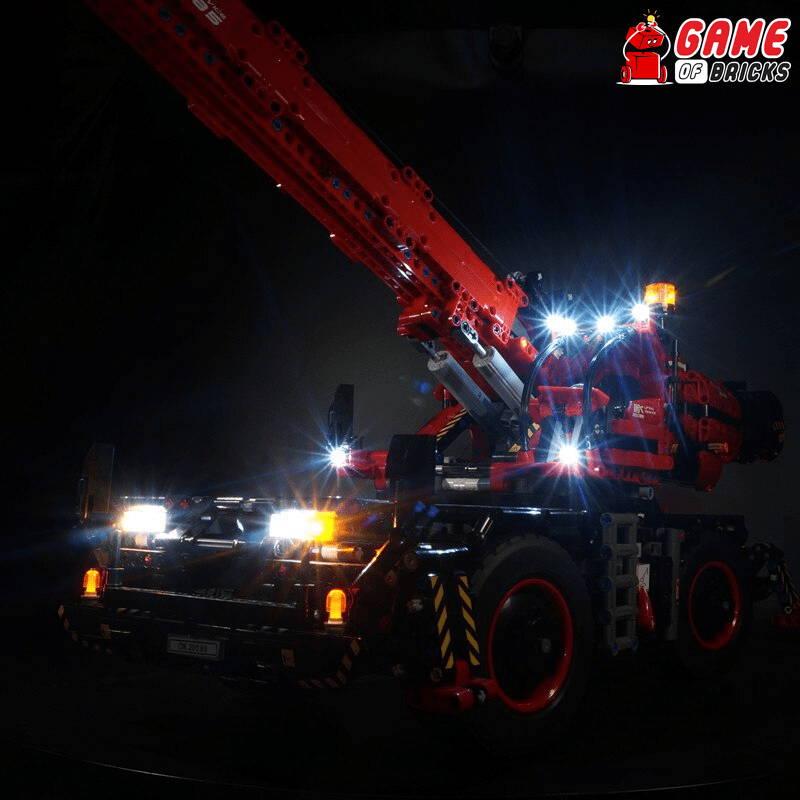 ROUGH TERRAIN CRANE 42082 lego night light
