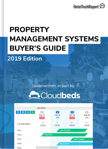 2019 Hoteliers Guide to Property Management Systems