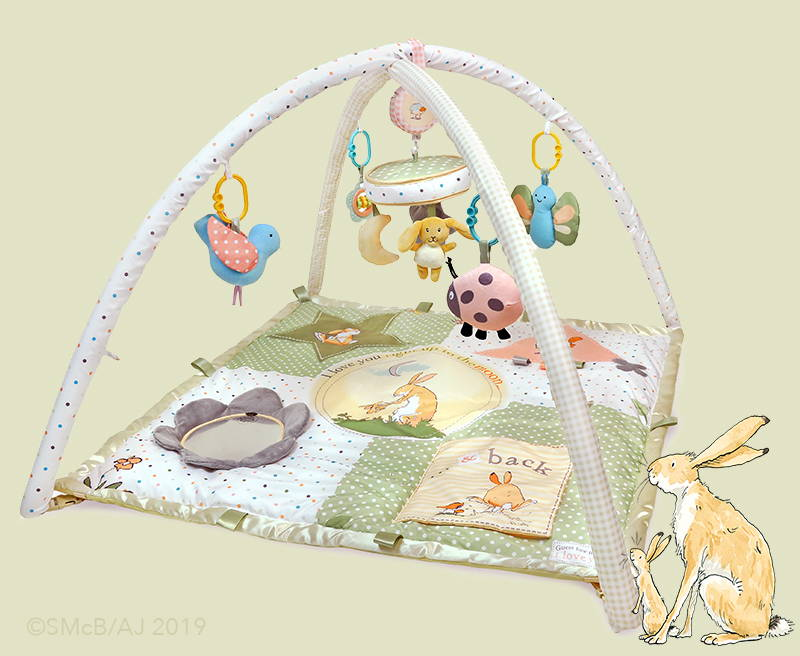 Guess How Much I Love You baby play gym