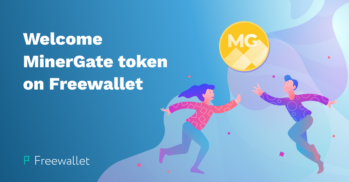 Freewallet welcomes MinerGate Token on Crypto Wallet