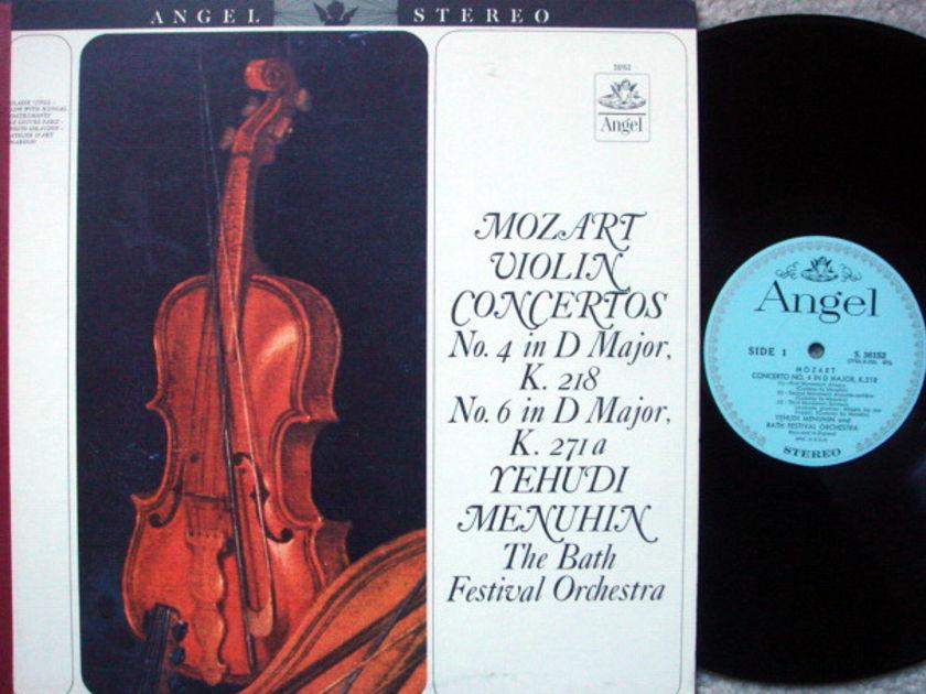 EMI Angel Blue / MENUHIN, - Mozart Violin Concertos No.4 & 6, MINT!