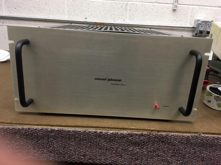 Conrad Johnson Premier Four 100w/ch Tube Power Amplifier
