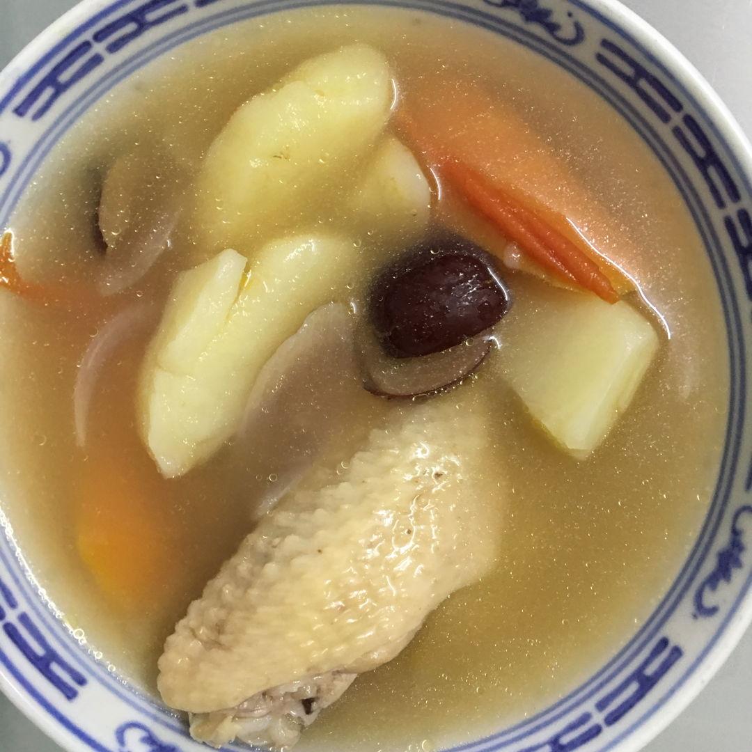 Jan 9th, 20 - ABC soup by my gal.