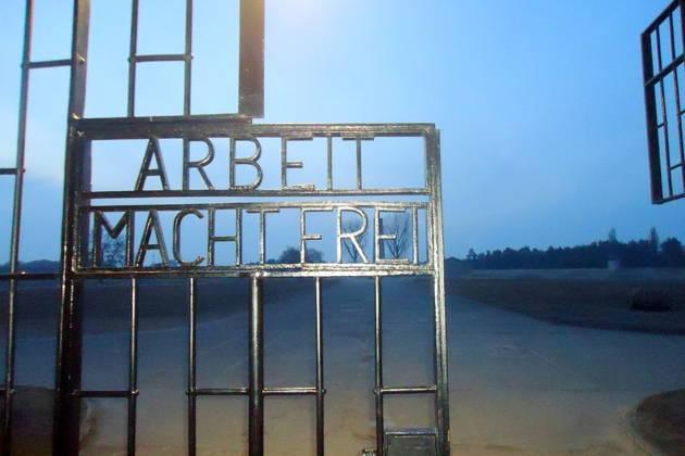 Концлагерь Заксенхаузен, где погиб сын Сталина