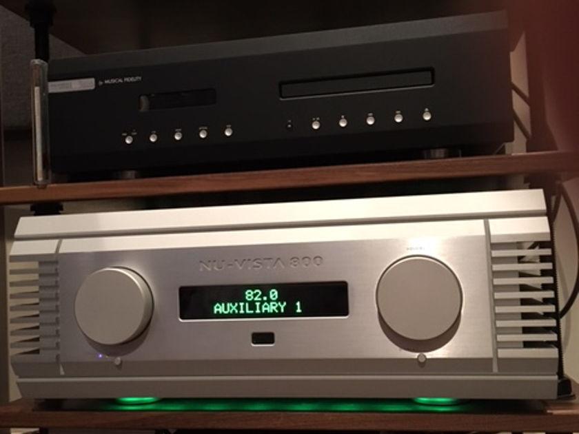 MUSICAL FIDELITY Nu-Vista 800 integrated amp DEALER DEMO