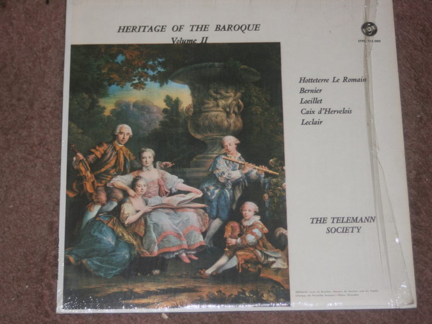 The Telemann Society  - Heritage of the Baroque Vol. II Vox STPL 514.000