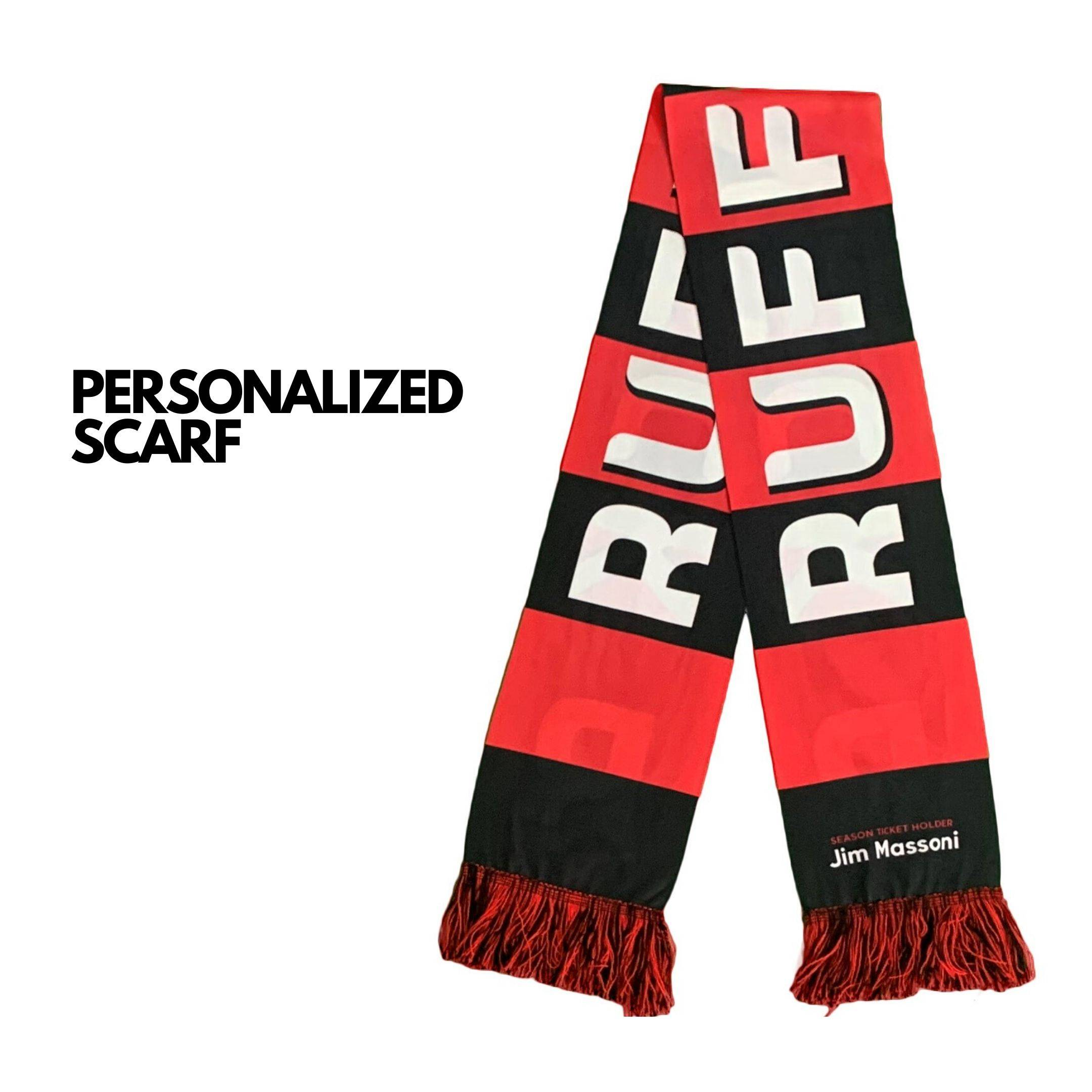 personalized scarf