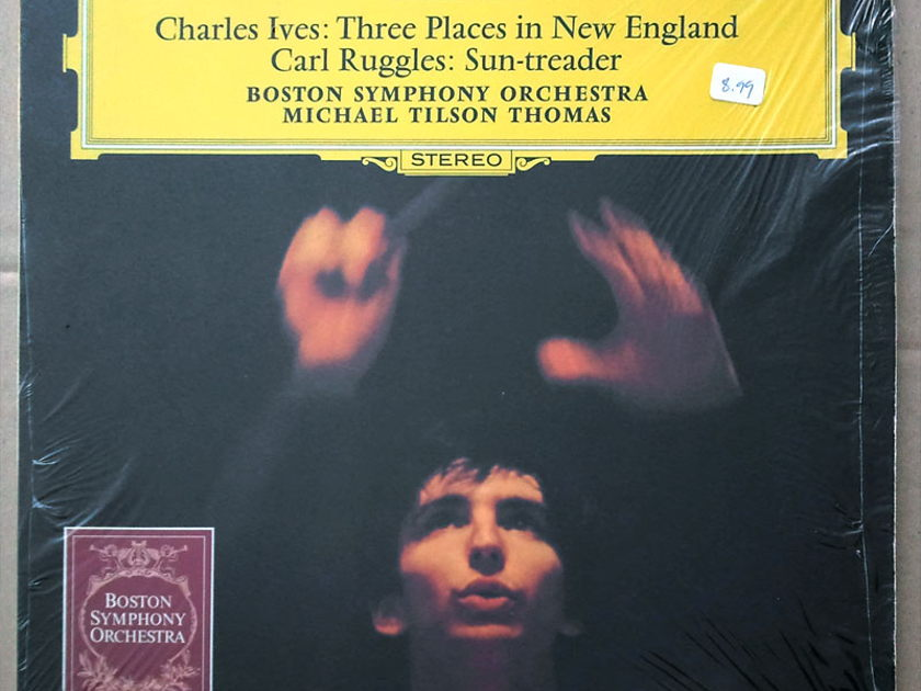 DG | TILSON THOMAS/IVES - Three Places in New England / RUGGLES Sun-Treader / NM