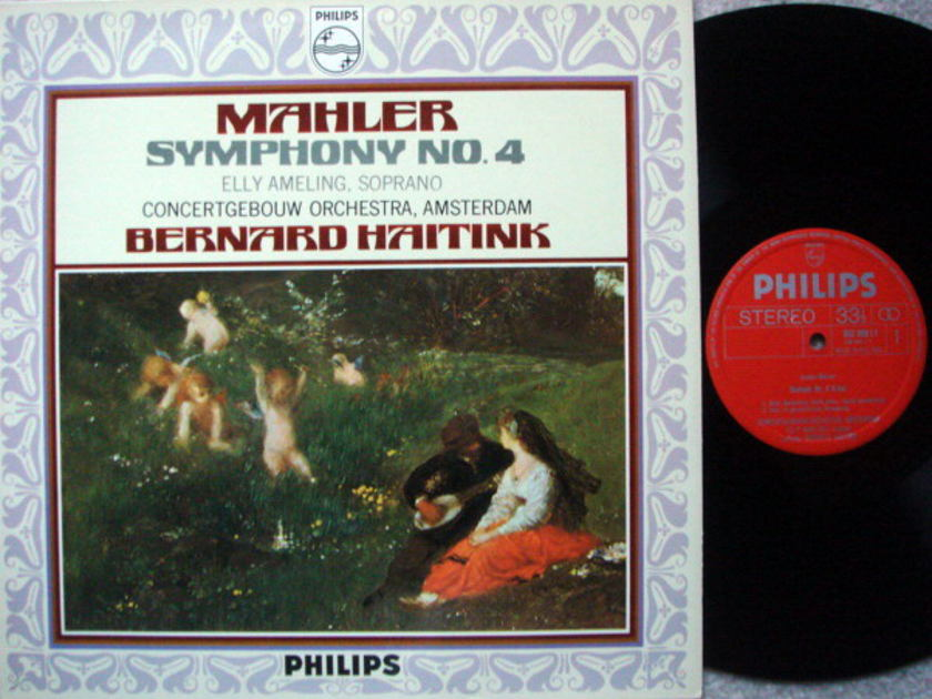 Philips / HAITINK, - Mahler Symphony No.4,  MINT!