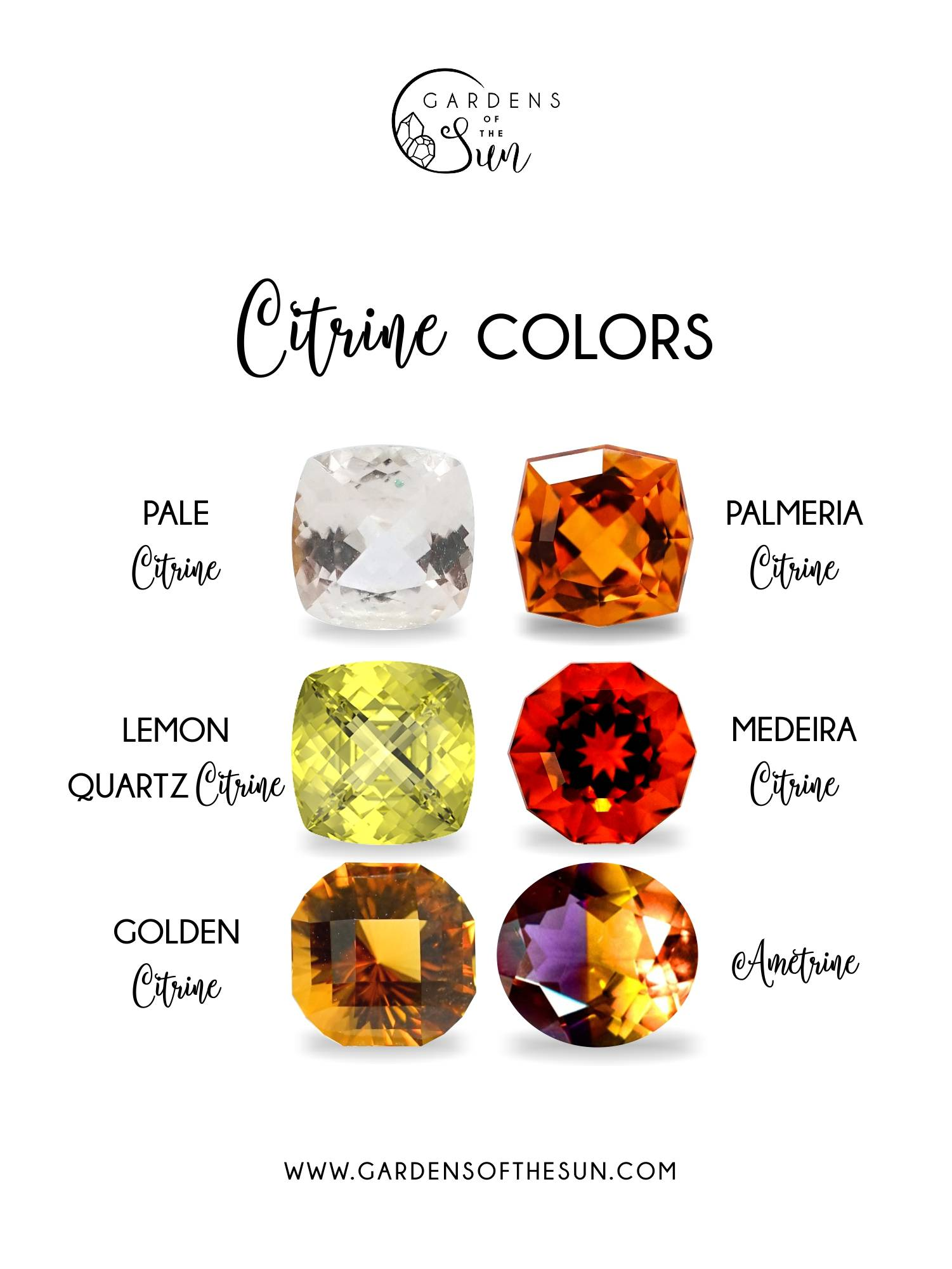 Citrine colors