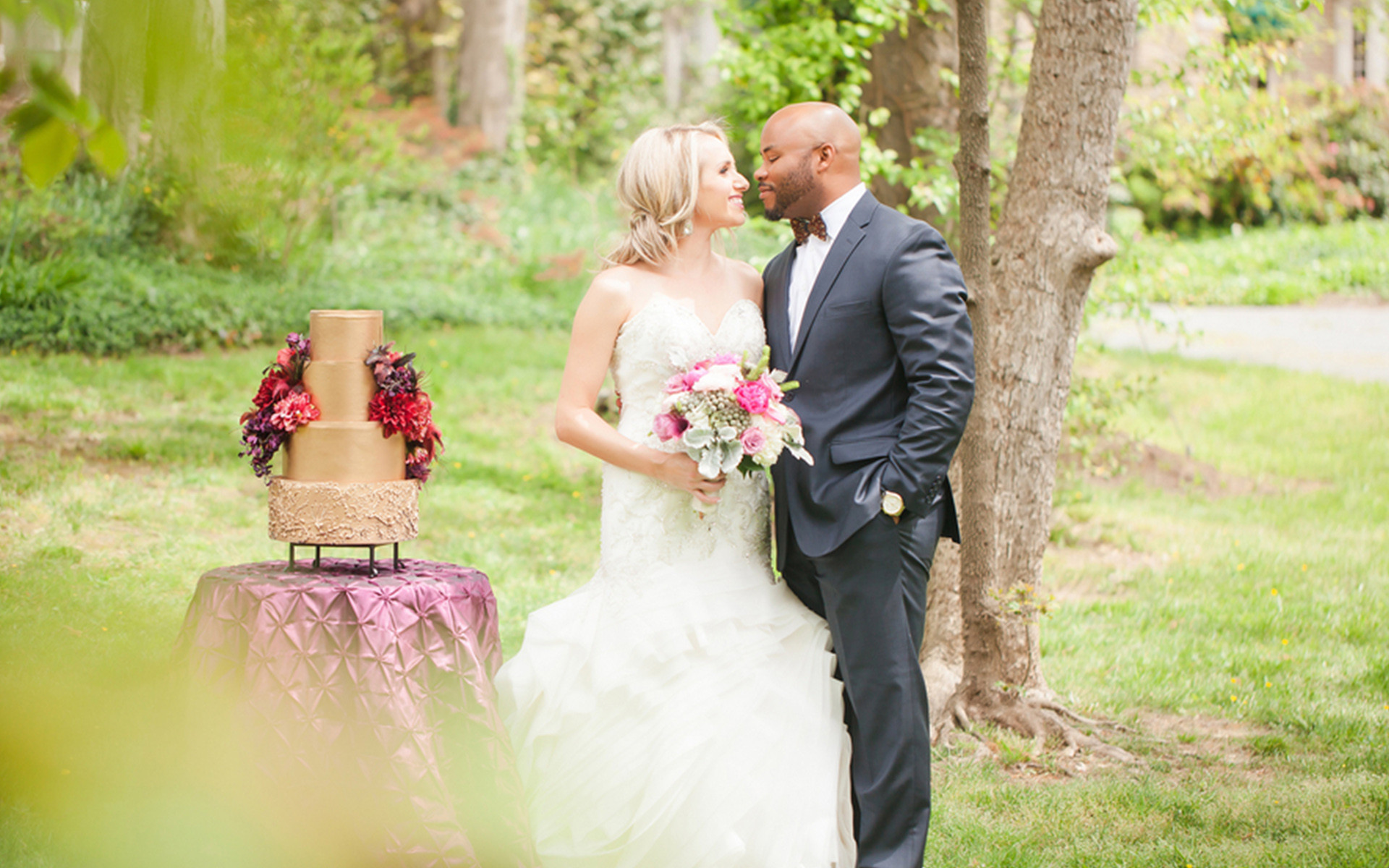 Ruby and Plum Southern Styled Wedding