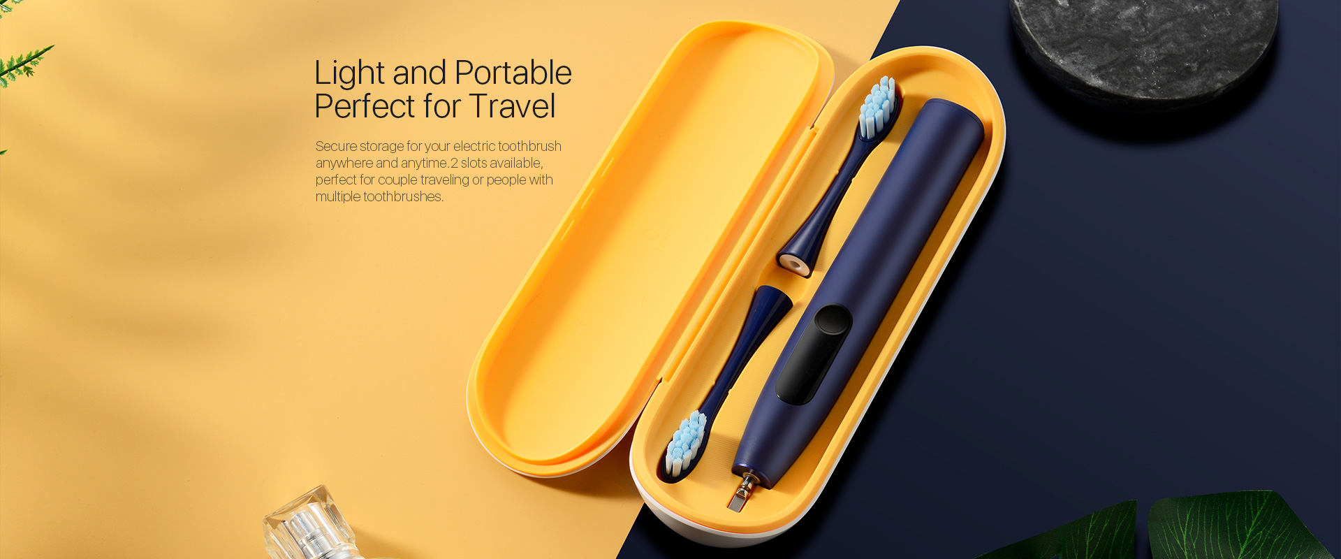 light and portable perfect for travel