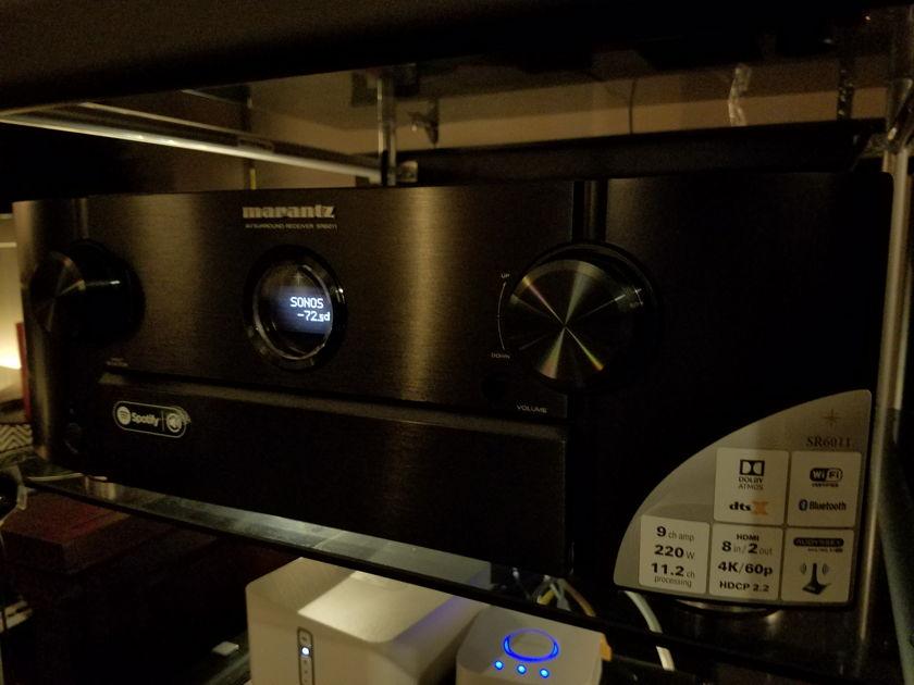 Marantz SR-6011 brand new condition (Dolby Atmos, DTS X)