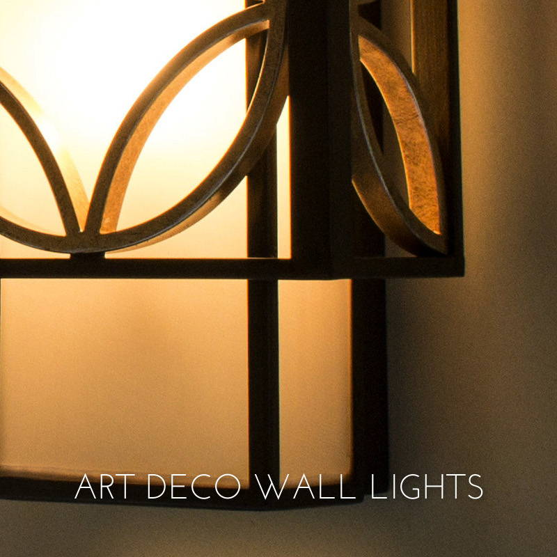 ART DECO WALL LIGHTS
