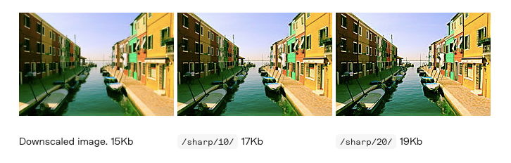 Image filtering example