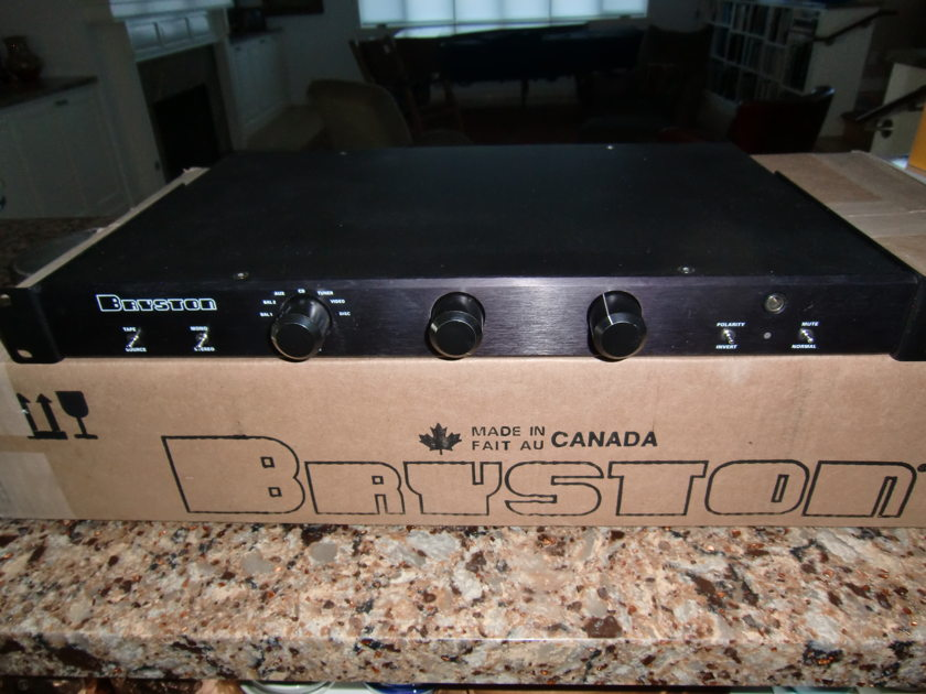 Bryston BP-20 stereo preamplifier