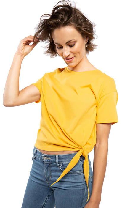 Frauen Knotenshirt - Spreadshirt ©