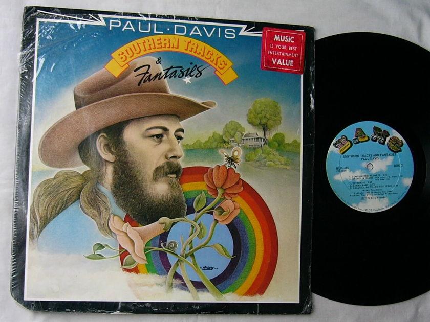 PAUL DAVIS LP--Southern Tracks Fantasies-- - rare 1976 album--Bang