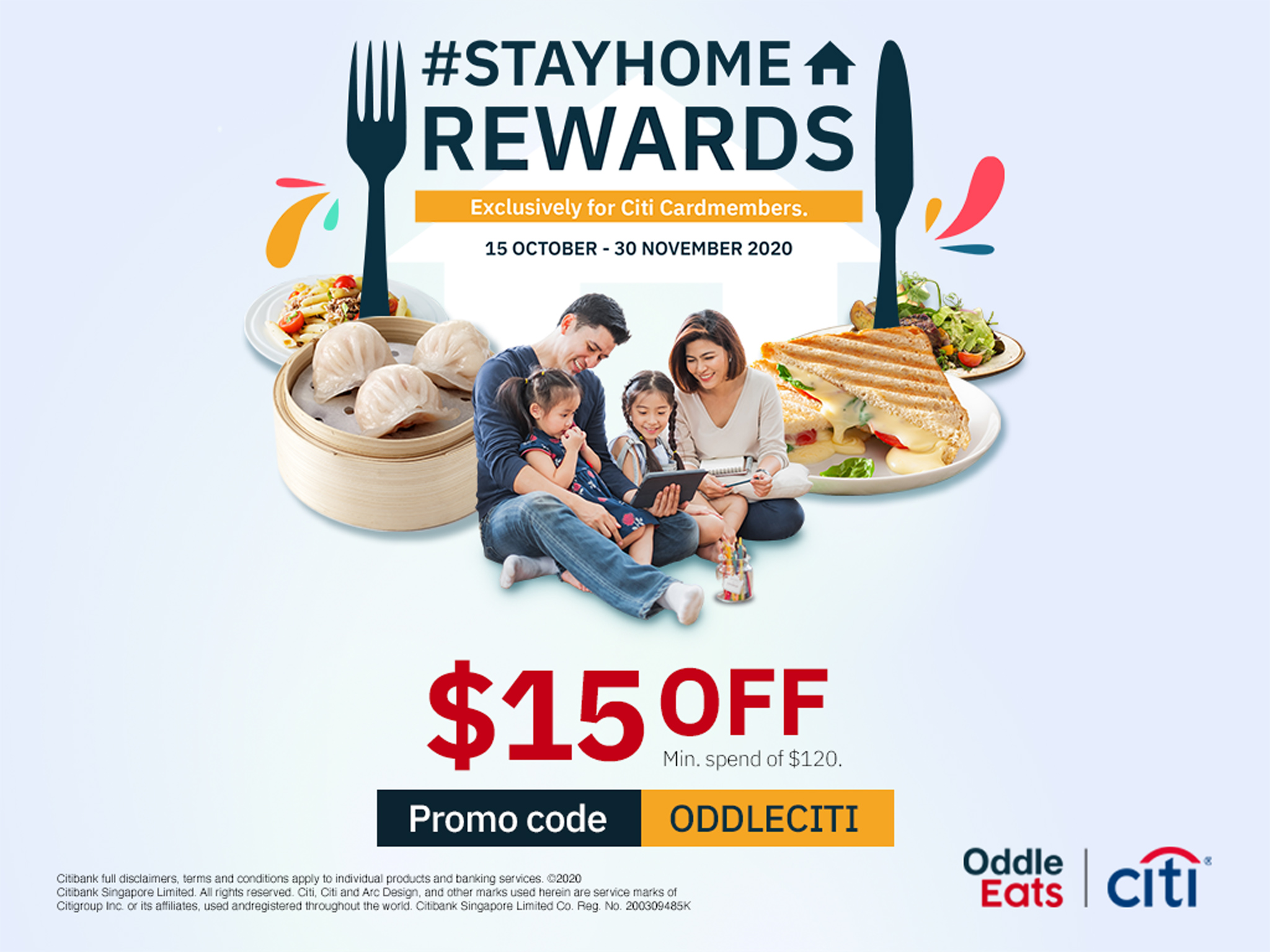 Enjoy $15 off with your Citi Card!