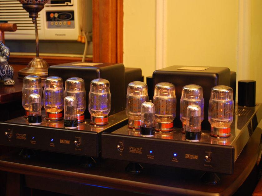 Cary Audio Design SLAM 100 monoblocks, near mint! w/ extra tubes, bias meter