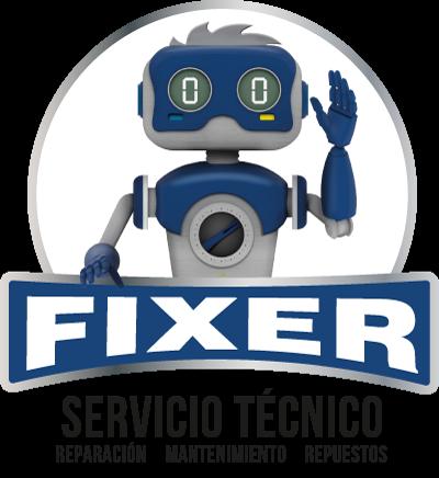 Logo Fixer, servicio tecnico, mantenimiento y repuesto