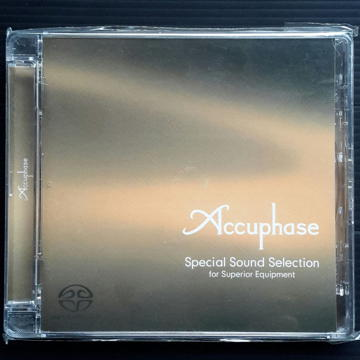 Accuphase Special Sound Selection Hybrid SACD