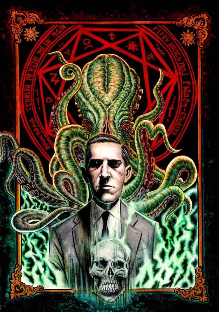 H.P. Lovecraft Cthulhu