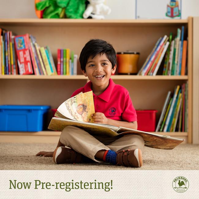 Pre-registering website and facebook image