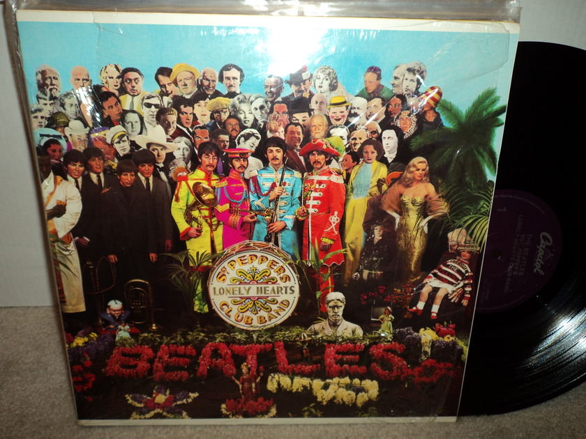 The Beatles - Sgt. Peppers Lonely Hearts Club Band Open Shrink  (Mint)
