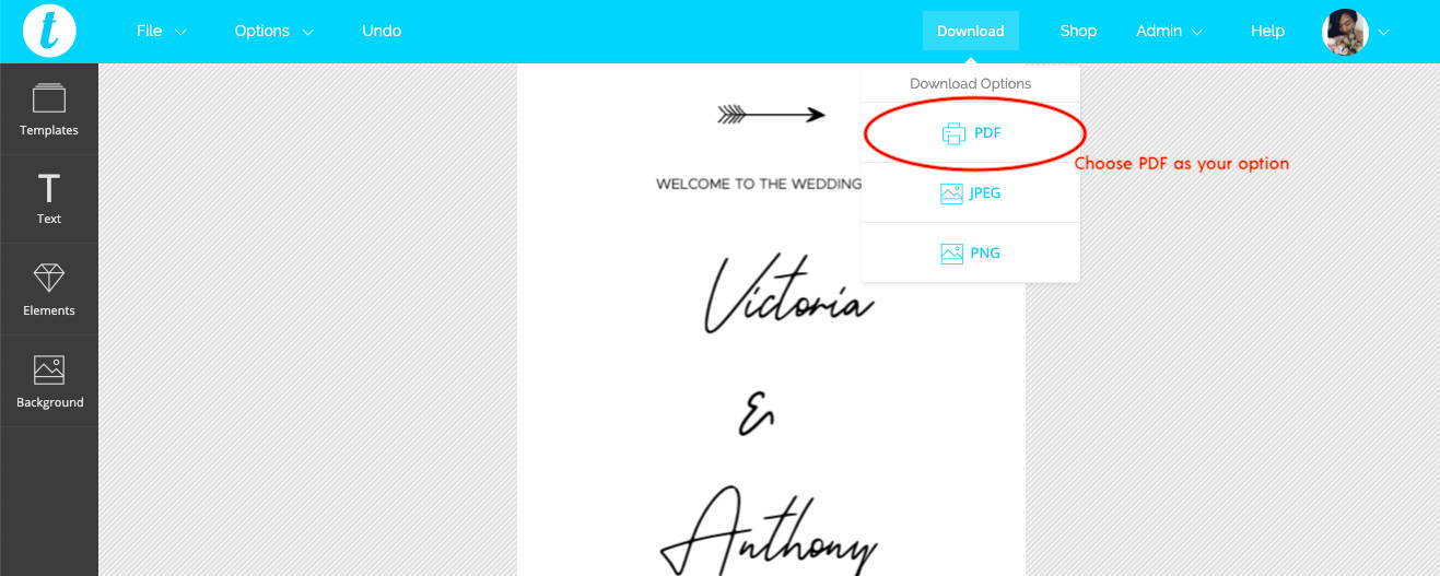 How to print your wedding signage online at Prints of Love | The Hello Bureau
