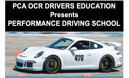 PCA OCR Performance Driving School with Craig Stan
