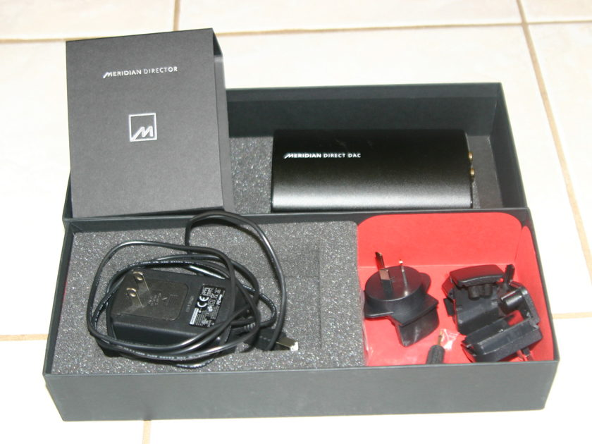 Meridian Direct DAC or The Director