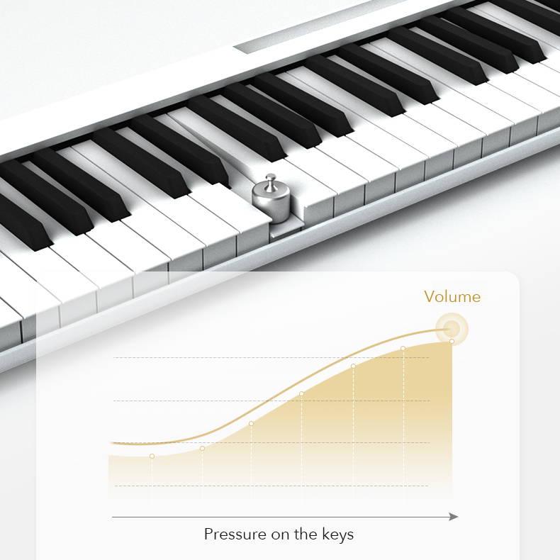 Weighted keys keyboard, best weighted keyboard 88 keys, digital piano