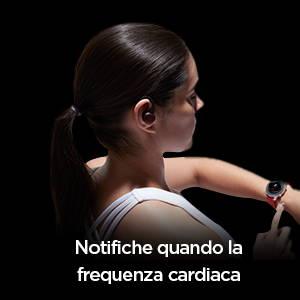 Amazfit Powerbuds - Notifiche in tempo reale quando la frequenza cardiaca è troppo alta