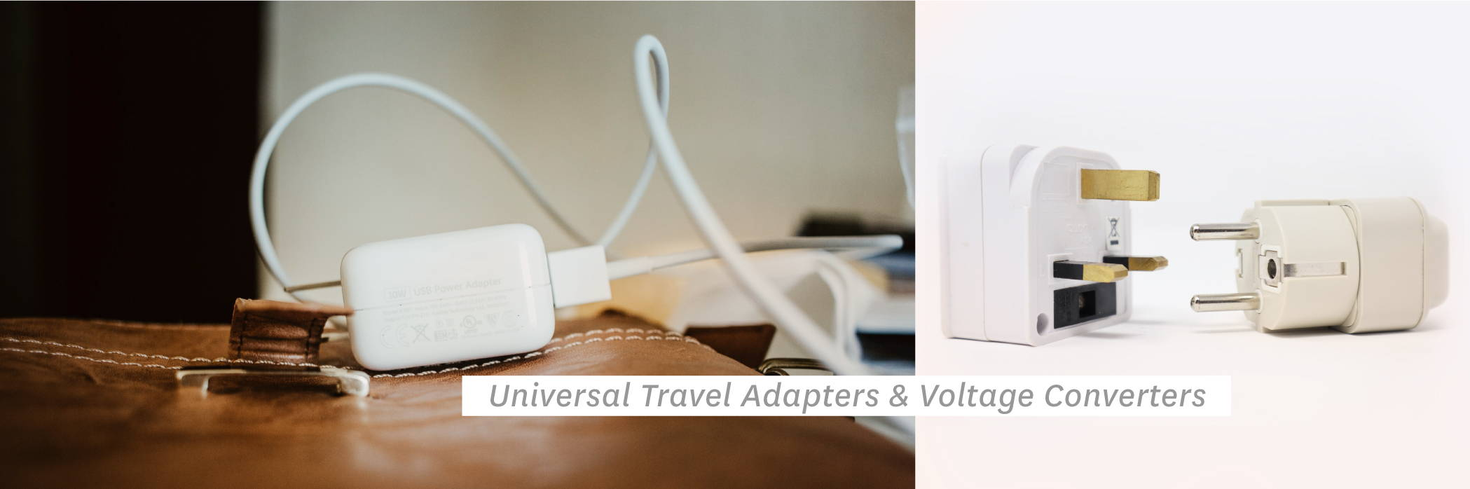 Universal Travel Adapters & Voltage Converters