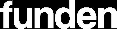 Funden logo white
