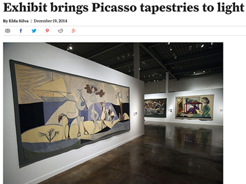 Picaso, Light, Tapestries